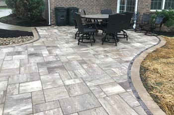 New patio built at a home in Canonsburg, PA.